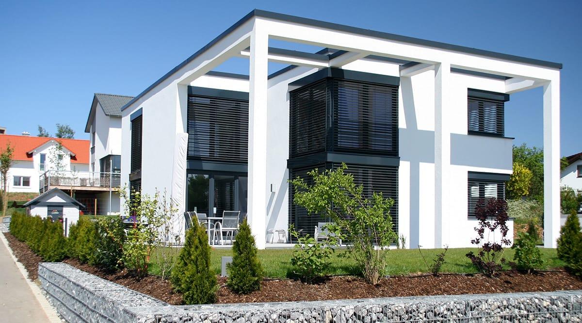 unser haustyp architektenh user schmidt hausvertrieb. Black Bedroom Furniture Sets. Home Design Ideas