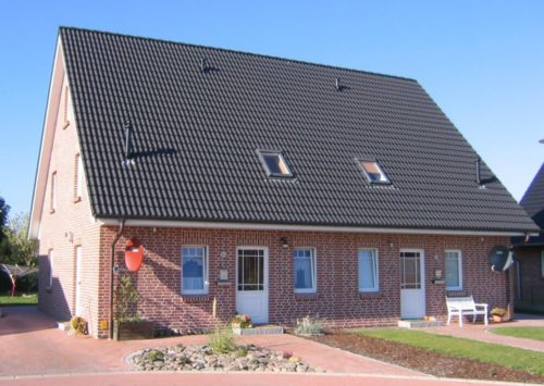 Doppelhaus Satteldach 100