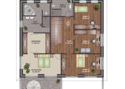 Architektenhaus 225 - Dachgeschoss