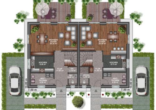 Doppelhaus SV 115 - Dachgeschoss